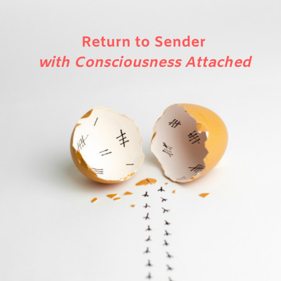 Return to Sender with Consciousness Attached
